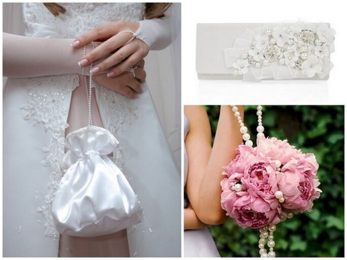 Sac à main de mariée