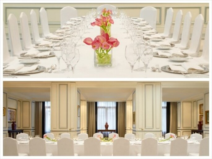 Destination wedding menus at The Westin Palace, Madrid