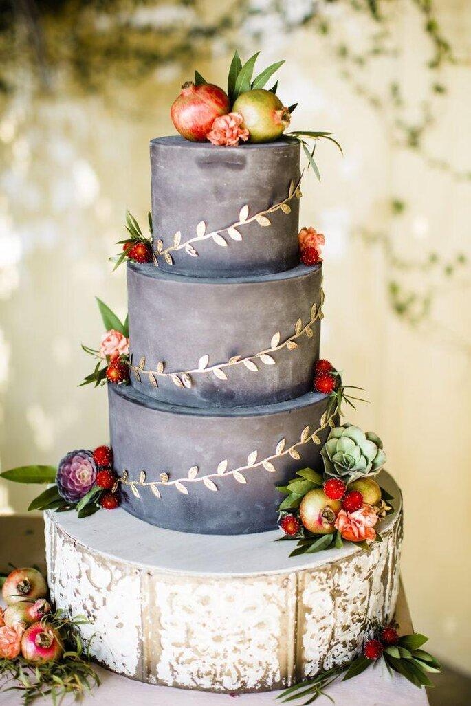 torta nuziale lavagna