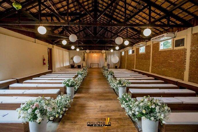 cerimônia na capela