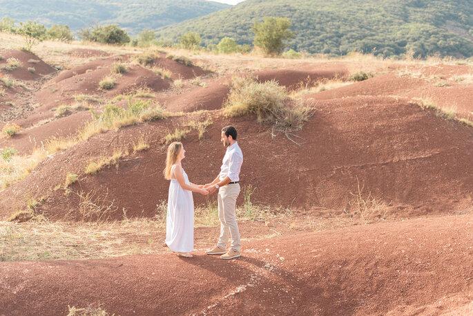 Séance photo d'engagement