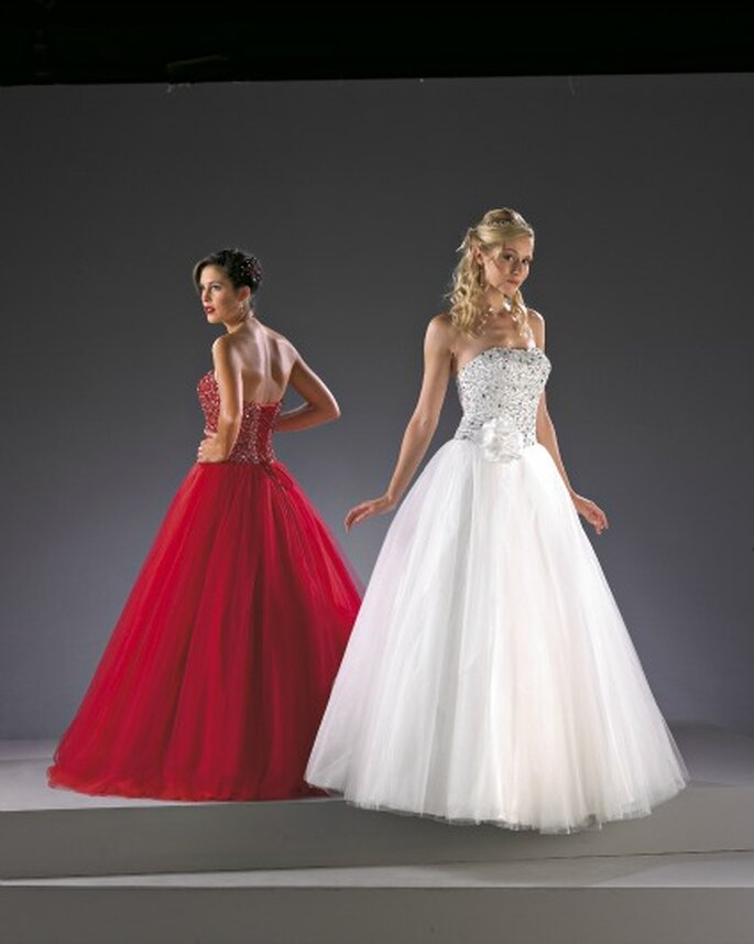 Robe de mariée Christine Couture 2013, modèle Diamant