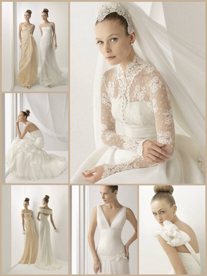 Vestidos de Noiva Rosa Clará 2012