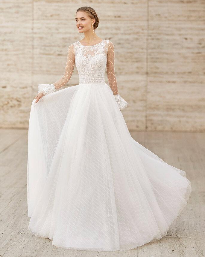 Vestidos de novia mangas largas