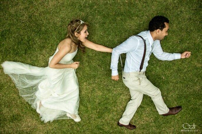 Comparte las fotos de tu boda con toda tu familia y revive los mejores momentos - Foto Arturo Ayala