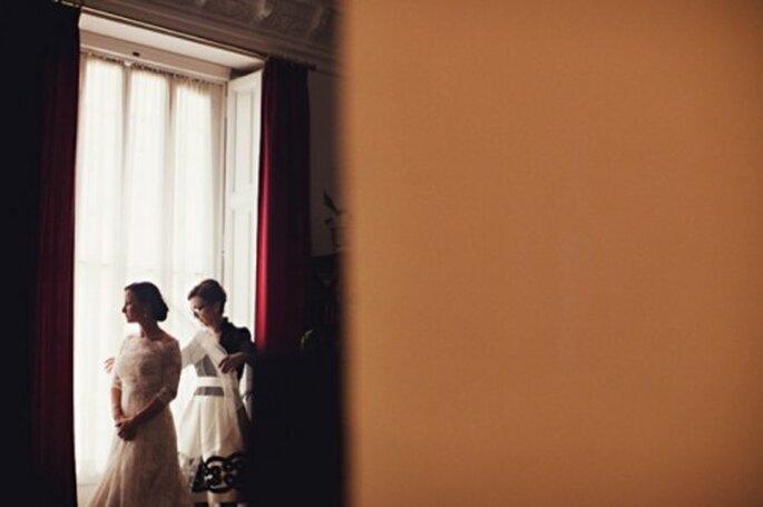 Prueba de vestido de novia - Foto Attitude Fotografia