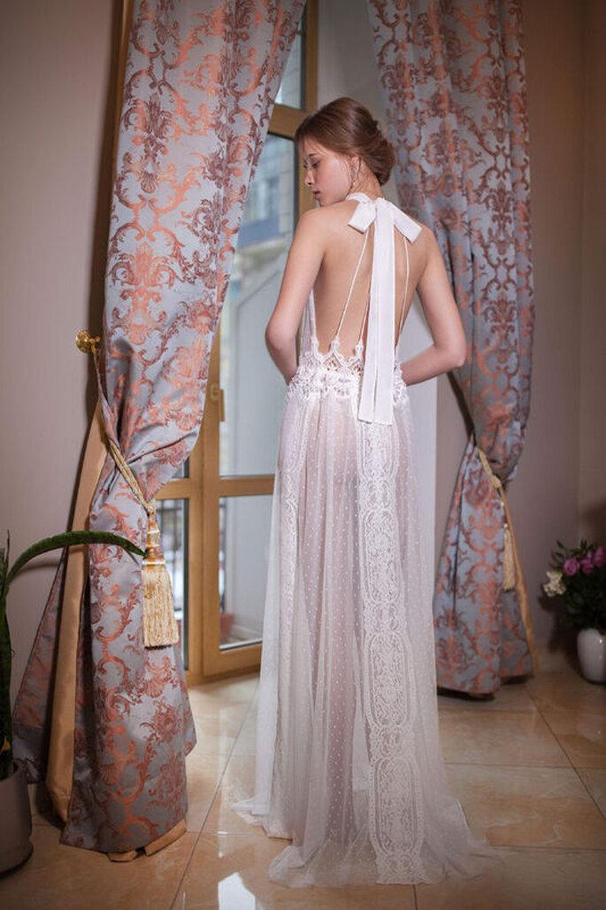 lencería noche bodas novia