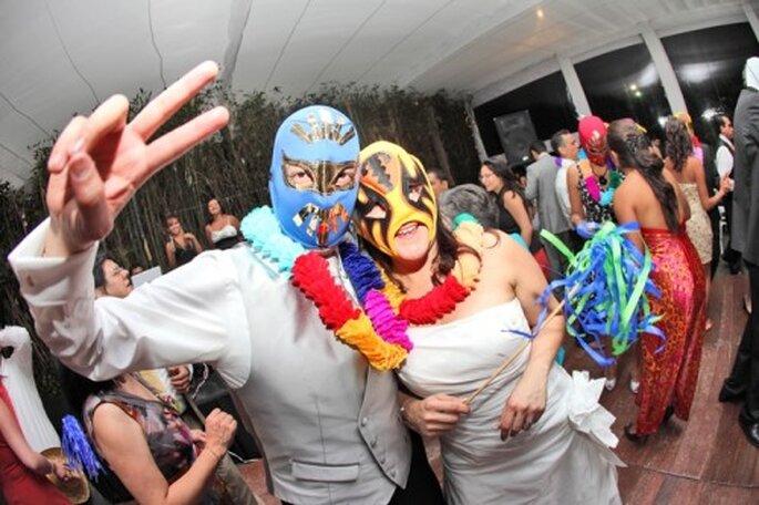 Definir el estilo de tu boda, animación de la fiesta. Foto de Santi Martinez