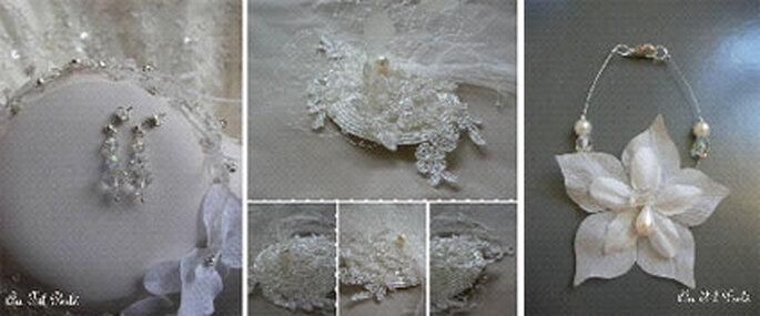 Bijoux de mariée pour robes à col jabot