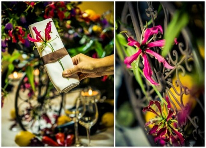 wesele jesienią pomysł na dekoracje