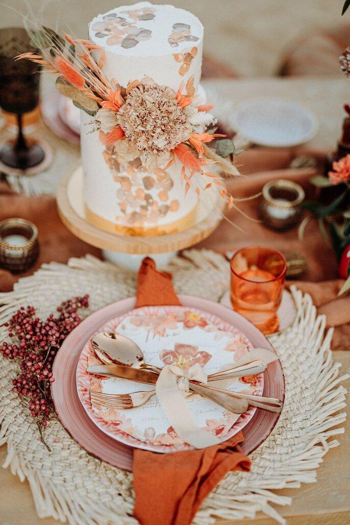 Die Farben des Orients Tischdekoration