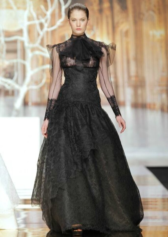 YolanCris, colección 2014. Foto: Barcelona Bridal Week