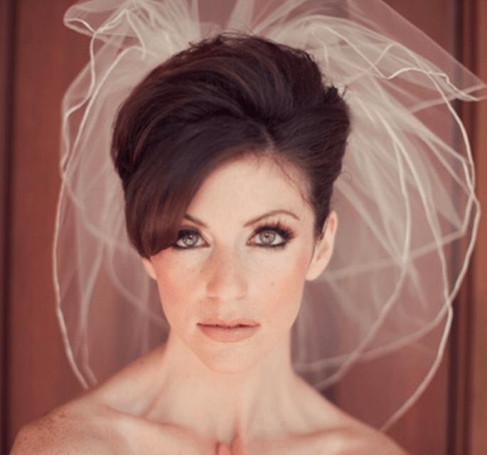15 tips para el maquillaje de tu boda - Foto Hair Comes the Bride