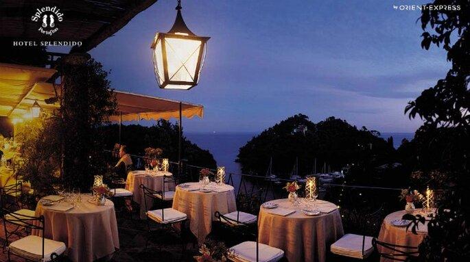 Sognate un matrimonio intimo ma glamour? Portofino è la vostra location. Foto: www.hotelsplendido.comSognate un matrimonio intimo ma glamour? Portofino è la vostra location. Foto: www.hotelsplendido.com
