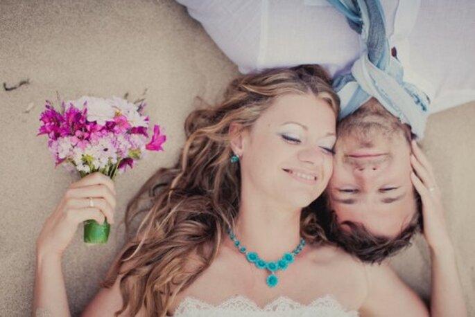 Disfruta de una maravillosa boda en la playa - Foto Nadia Meli