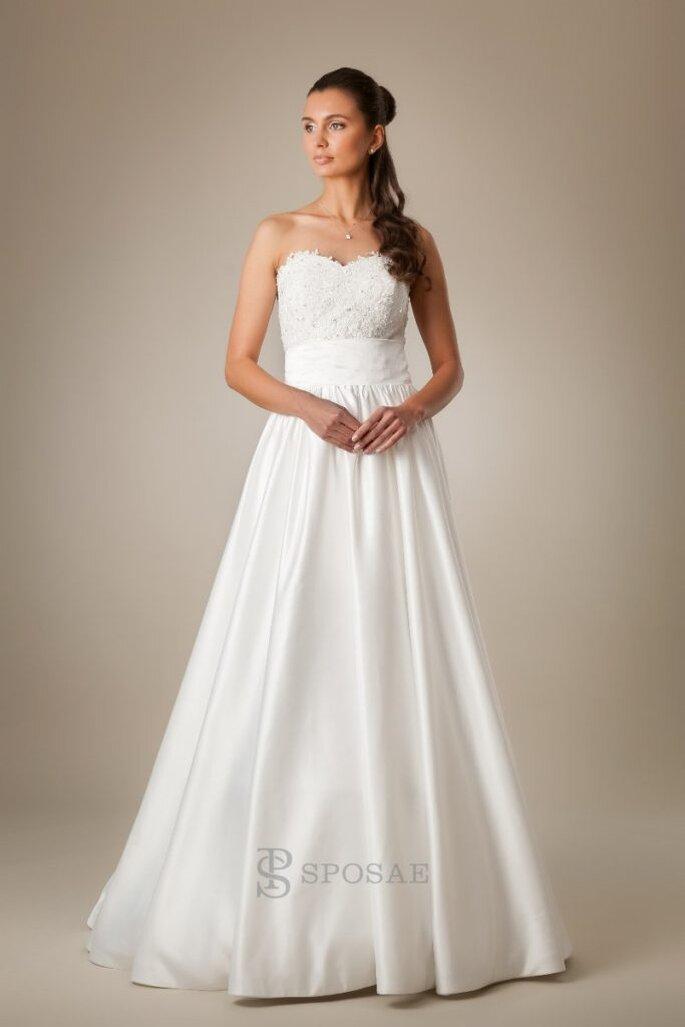 Sposae  quando scegliere l abito da sposa diventa un esperienza ... 51523f0f7d0