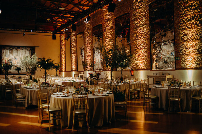 Real Fábrica de Tapices lugar para bodas Madrid