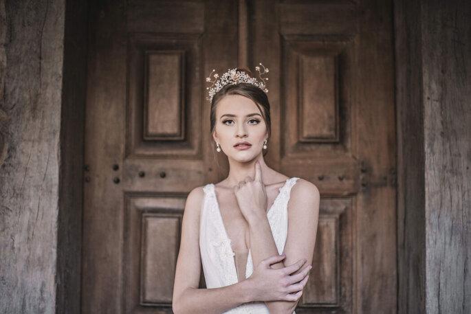 Beleza natural da noiva por Léo Batista Studio
