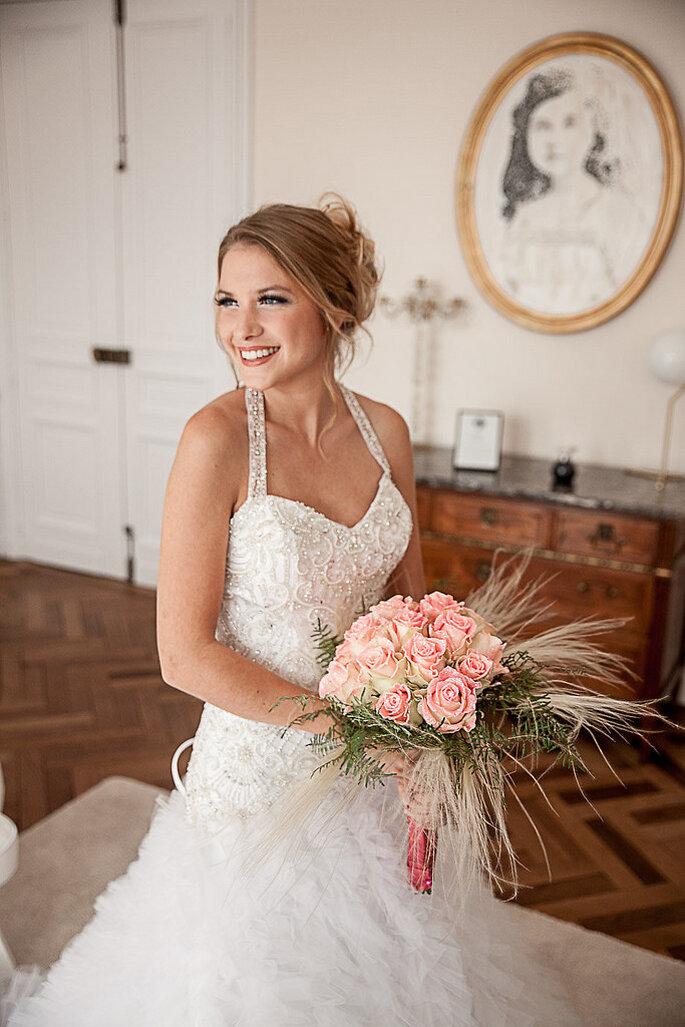 Photo : Rock'n'Brides - Maquillages et Coiffures : Au Boudoir