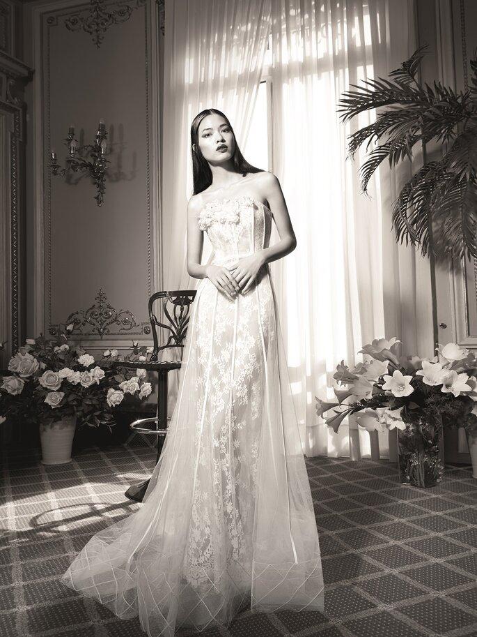 yolan cris presenta su nueva colección de vestidos de novia en la