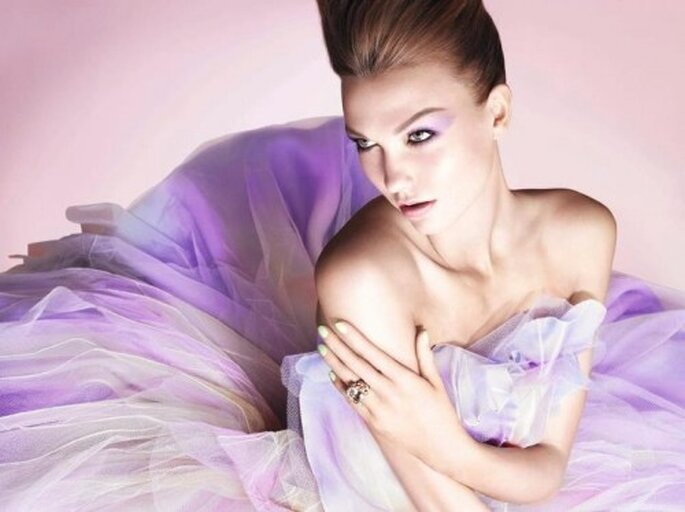 Maquillaje de novia estilo ombré - Foto Christian Dior Facebook