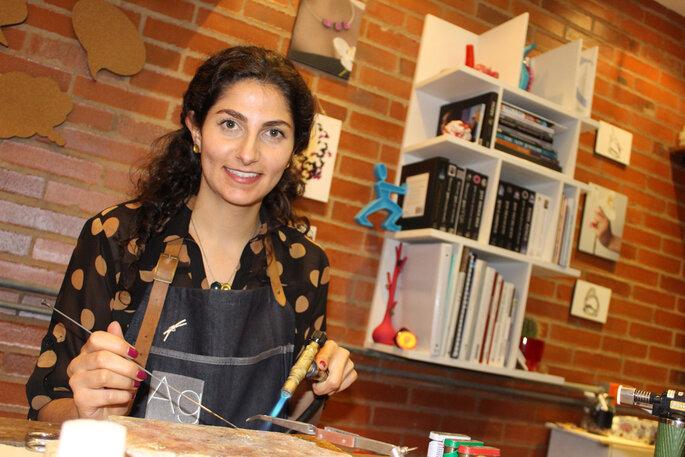 Ana González Diseñadora de Joyas