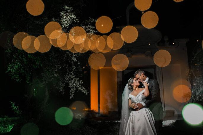 Ensaio apaixonado dos noivos