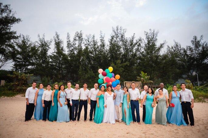 casamento na praia no Grumari Beach Garden