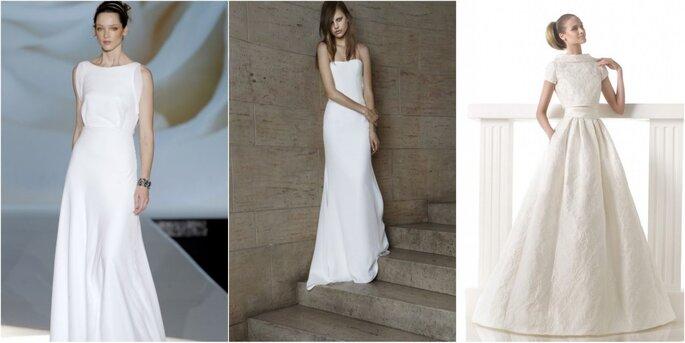 Просто свадебное платье