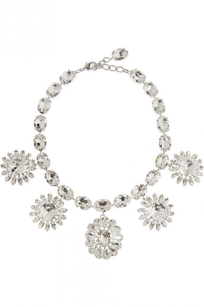 Statement necklaces para novia en tendencia - Foto Dolce & Gabbana