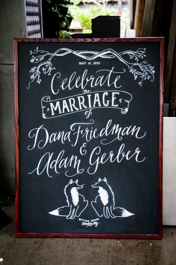 7 formas para personalizar la decoración de tu boda - Foto Khaki Bedford Photography
