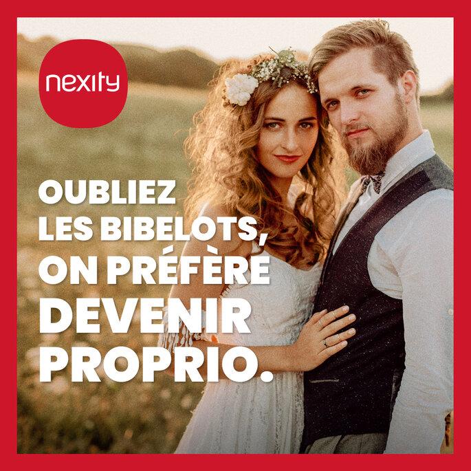 Nexity - Liste de mariage - Cagnotte immobilière - France