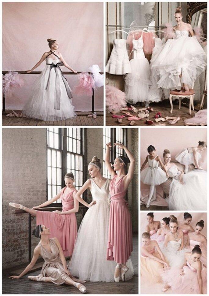 Ballerina Brautkleider - Martha Stewart Weddings