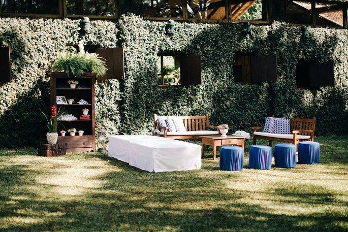 Lounge área externa