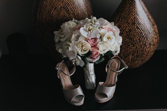 Sapato da noiva: Agiafatto - Foto: Matheus Brito Wedding & Lifestyle