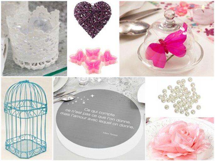 Une décoration de mariage bucolique et champêtre : quoi de plus romantique ? - Photo : Zoé Confetti