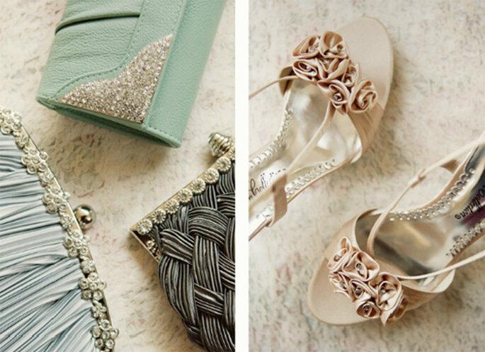 Bolsas de mano y zapatos estilo vintage - Foto: Ruche