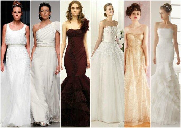 trendy ślubne 2013 suknie ślubne