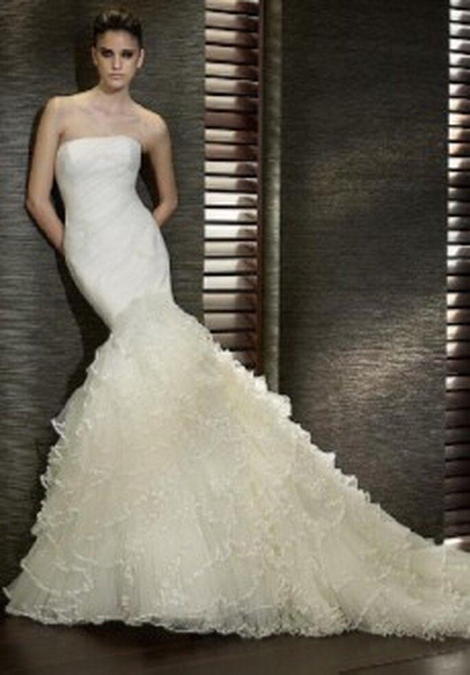 Colección de vestidos de novia palabra de honor 2011