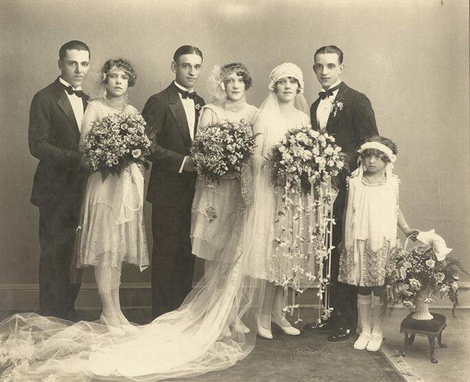 Boda en 1928. Foto: Sam Fam