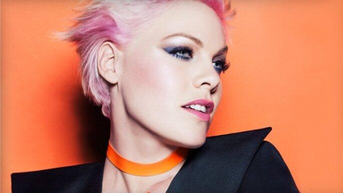 Pink. Foto de COVERGIRL.