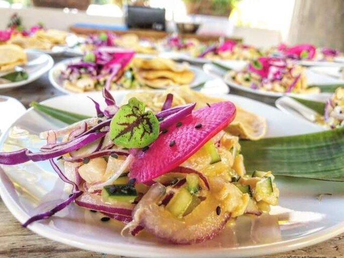 Adelaida Catering banquete bodas Querétaro