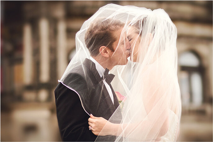 Hochzeitskuss. - Foto: Torsten Hufsky.