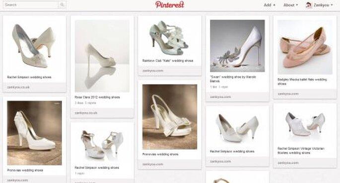 Bacheca di Pinterest - Scarpe da matrimonio