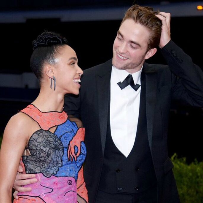 Robert Pattinson y Fka Twigs.
