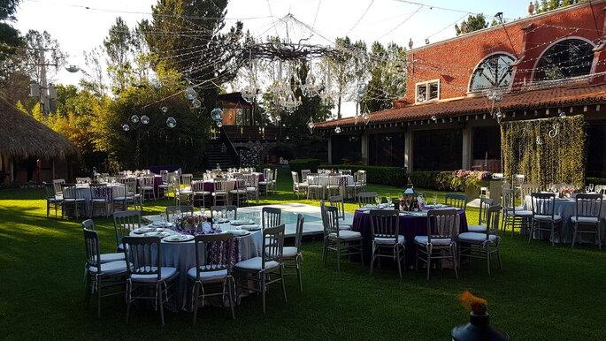 Rancho las Aguilas jardines para bodas Durango
