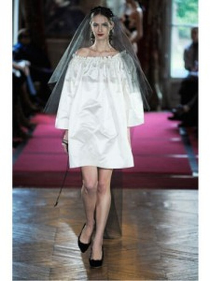 Vestido de novia demasiado suelto