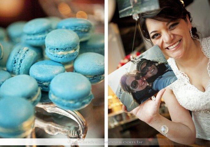 Macarrones franceses para boda. Fotografía Andrea Paccini