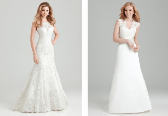 Vestidos de novia con mangas cortas para una boda en primavera 2013 - Foto Allure Bridals