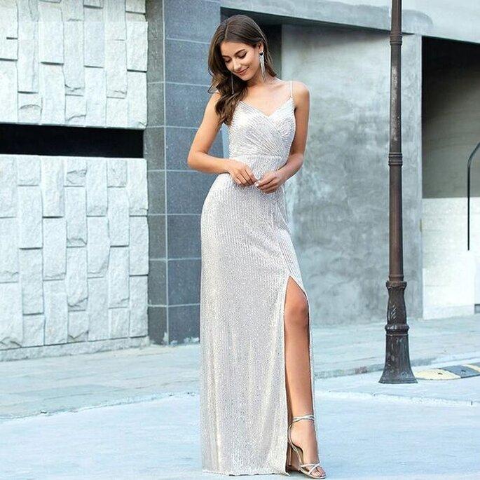 Del Pilar Boutique vestido para invitada Viña del Mar